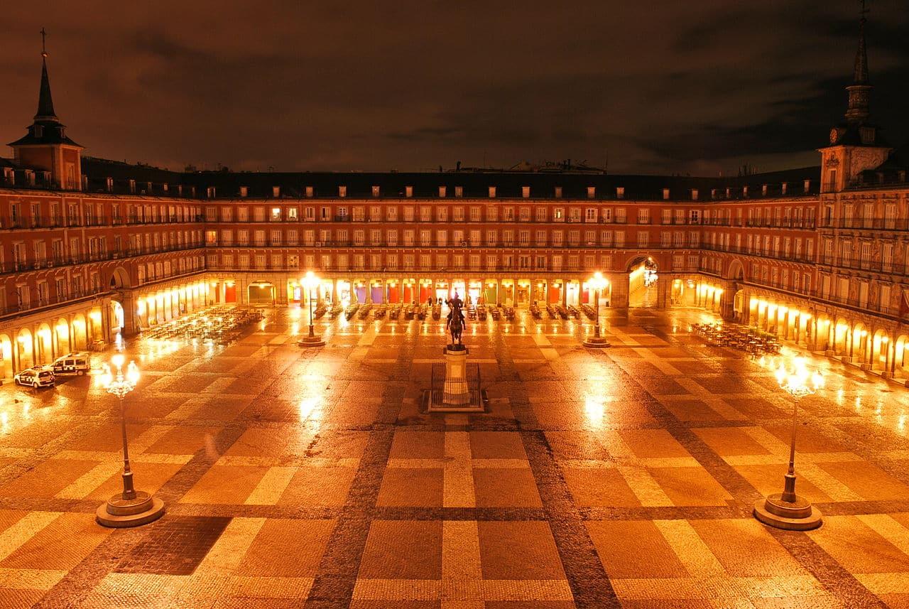 Romantisch hotel Madrid