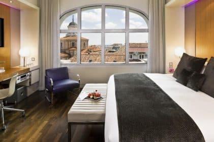Hotel Madrid me madrid reina victoria 5